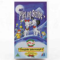 Plet og Strib's magiske juleeventyr (VHS - Dansk tale)