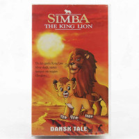 Simba - The King Lion (VHS - Dansk Tale)