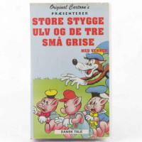 Store stygge ulv og de tre små grise (VHS - Dansk tale)