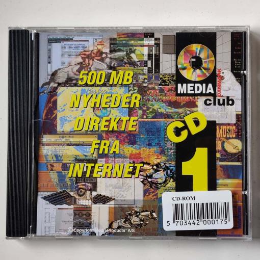 500MB nyheder direkte fra Internettet - Media Club Danmark