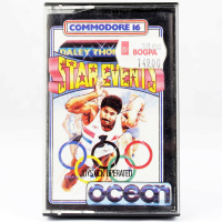 Daley Thompson's Star Events (Commodore 16, Cassette)